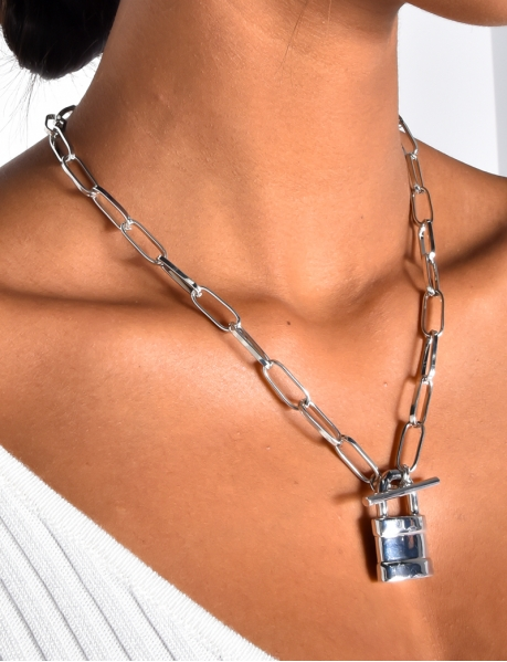 Necklace with Padlocks