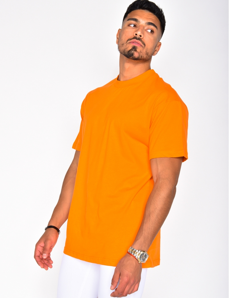 T-shirt col montant