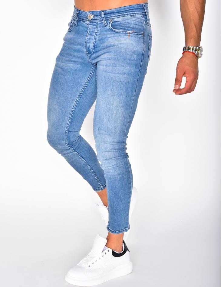 Jeans bleu clair basic