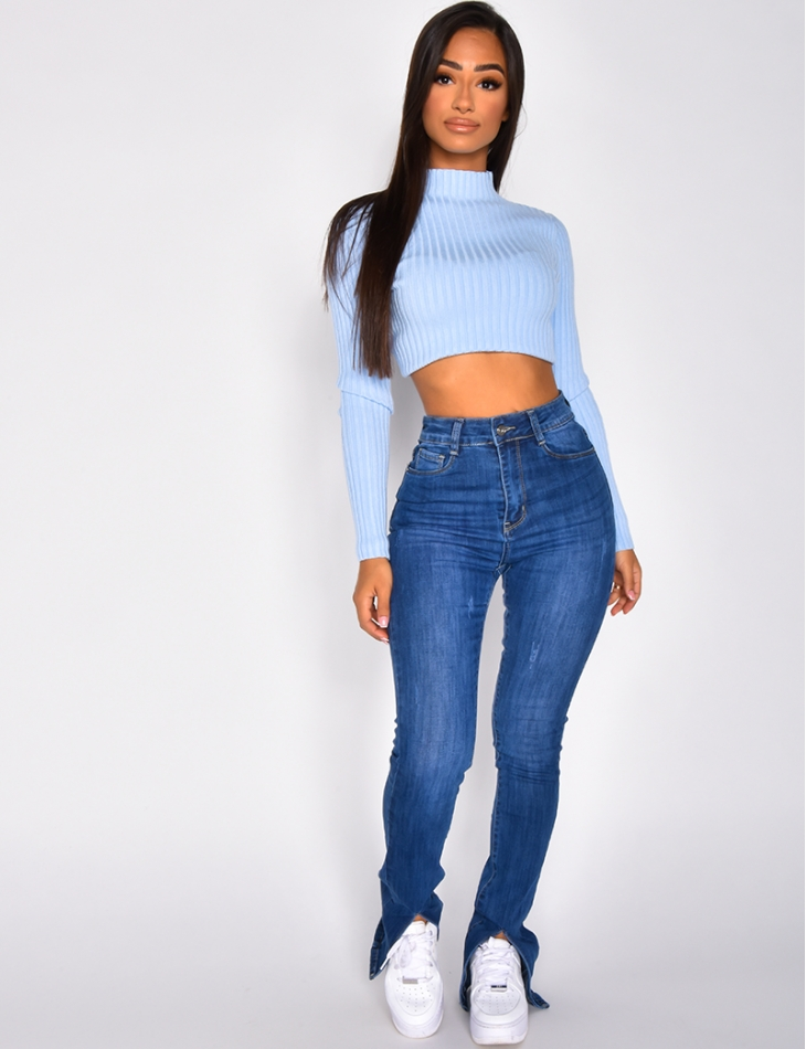 Jeans with Slits