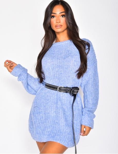Pull en laine oversize