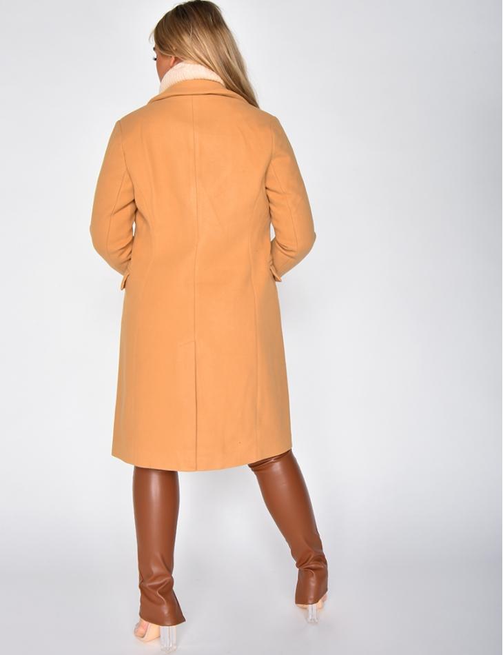 Manteau à boutons