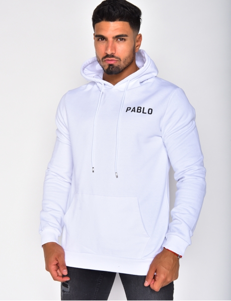 "Sweat à capuche ""Pablo"""