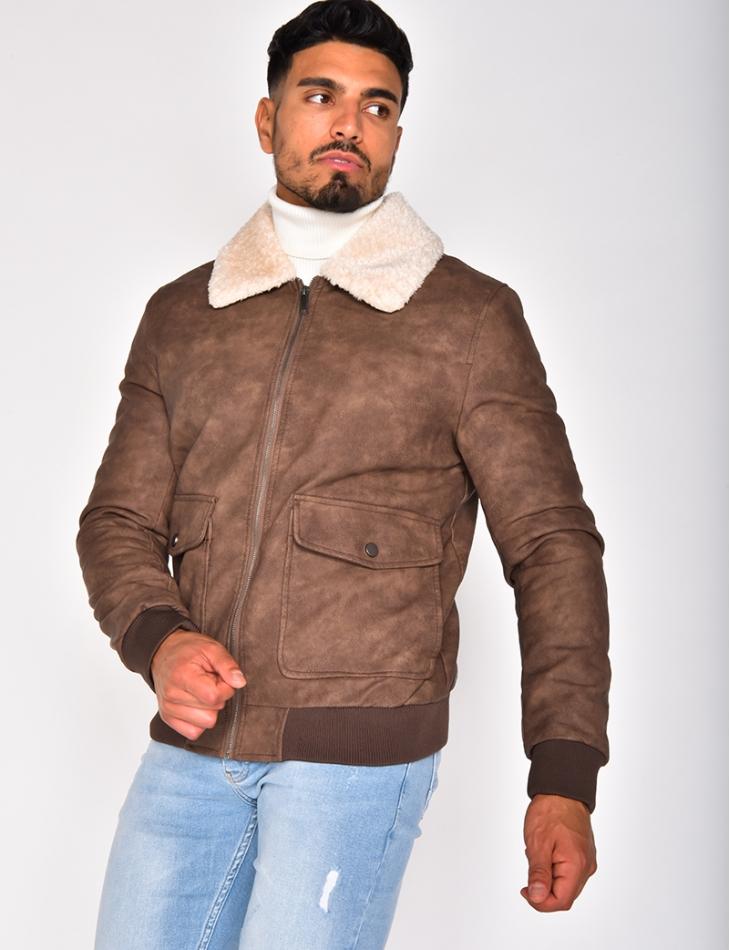 Fur Collar Jacket