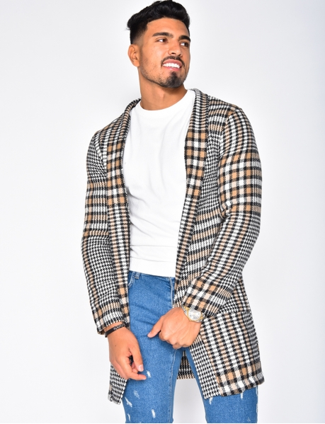 Men's Checked and Houndstooth Jacket