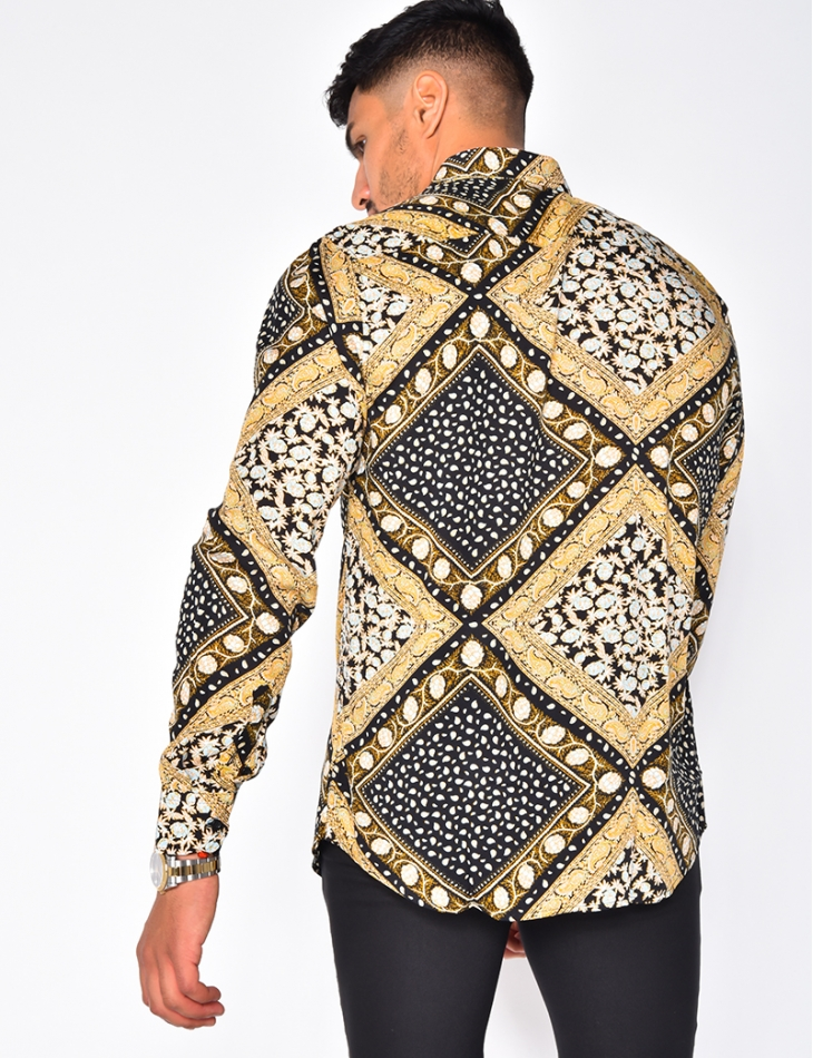 Long Sleeved Loose-fitting Shirt