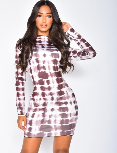 Speckled Bodycon Dress