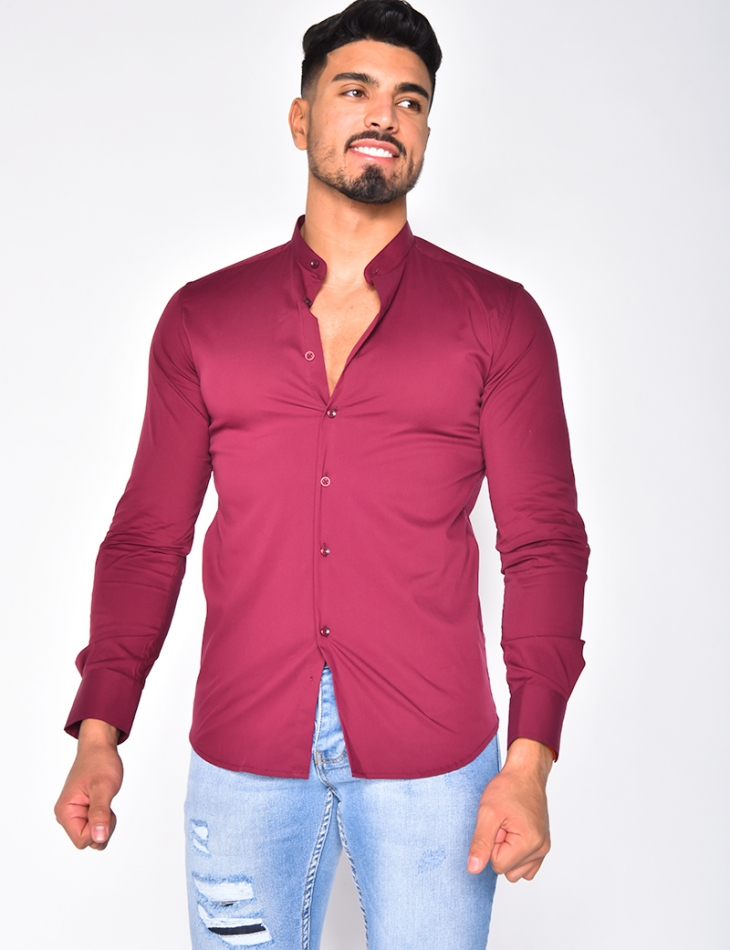 Long Sleeved Shirt with Round Neckline
