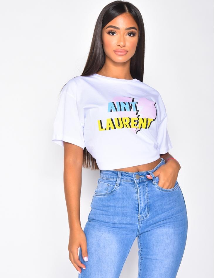 """T-shirt """"Aint Laurent"""""""