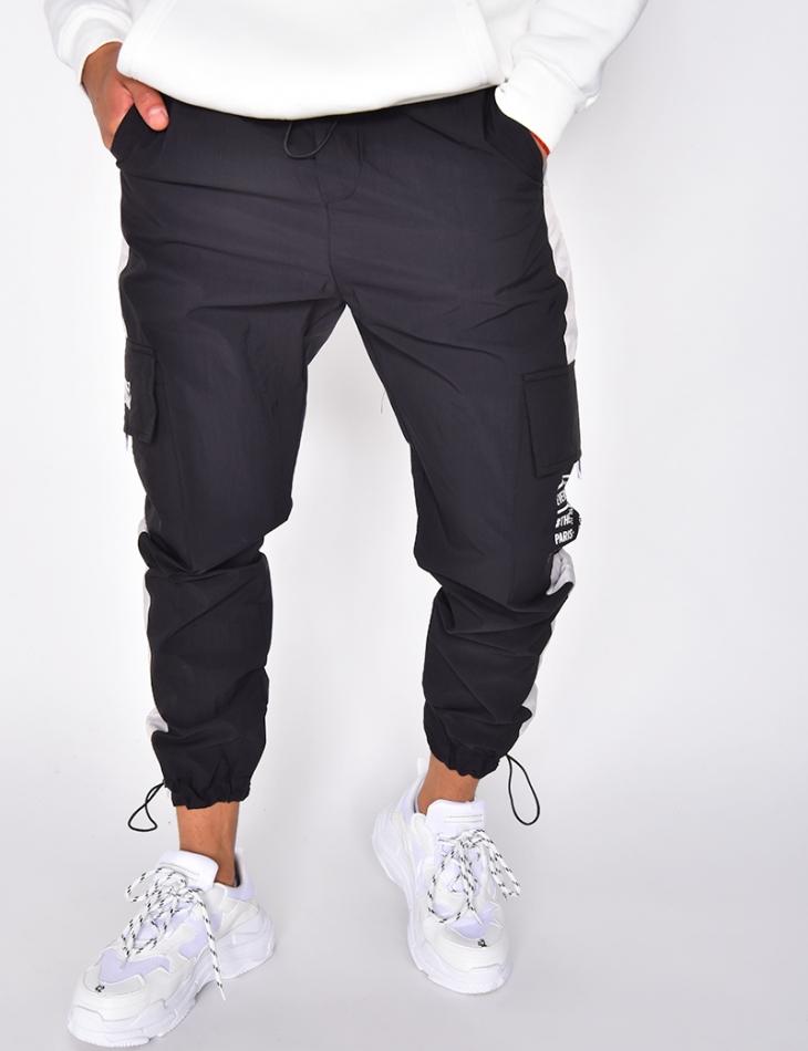 Pantalon de jogging à bandes réfléchissantes