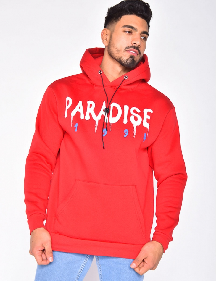 "Sweat à capuche ""Paradise"""
