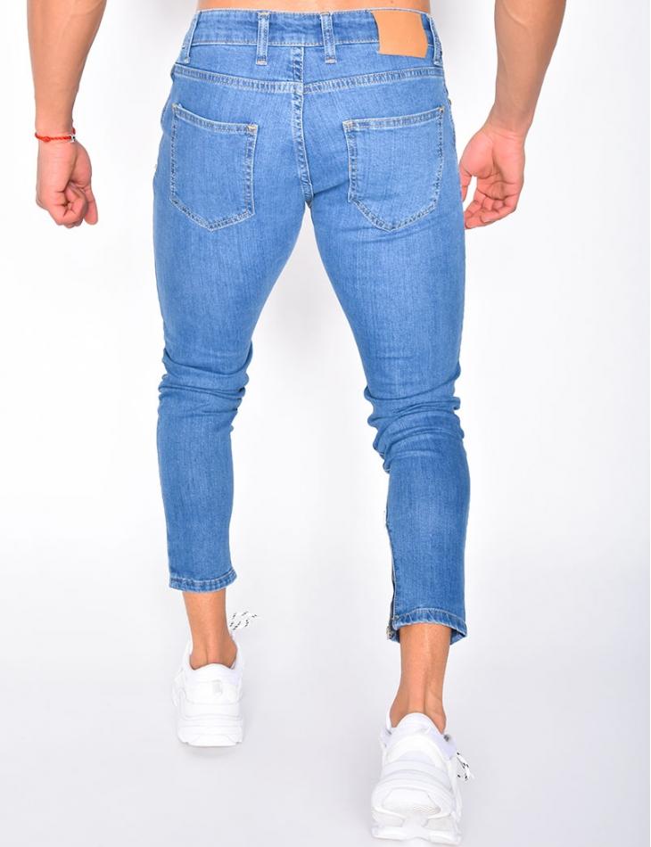 Jeans à zips