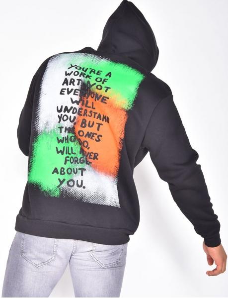 """""""Predator"""" Sweatshirt with Hood"""