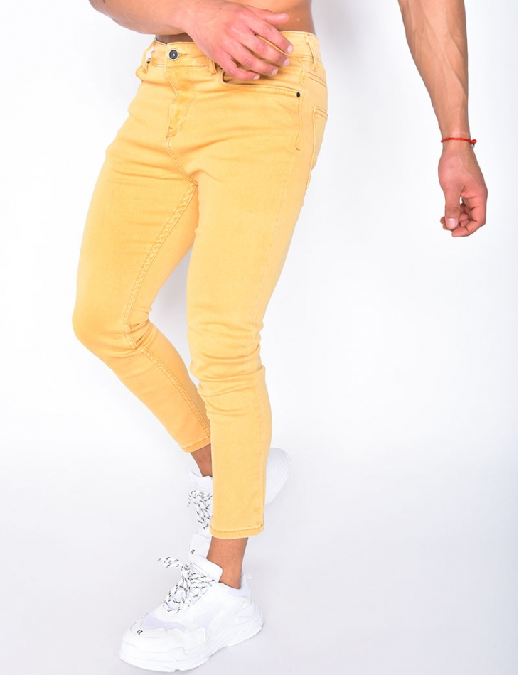 Jeans moutarde basic