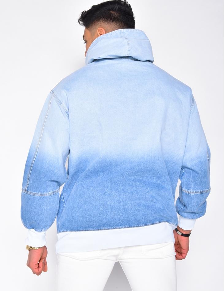 Veste en jeans à enfiler