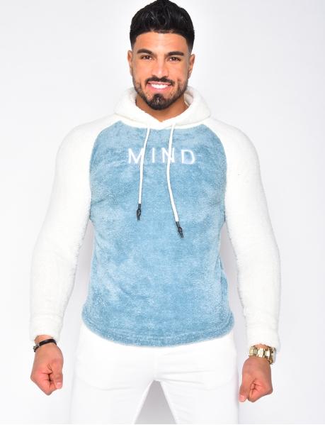 "Super Soft ""Mind"" Sweatshirt with Hood"