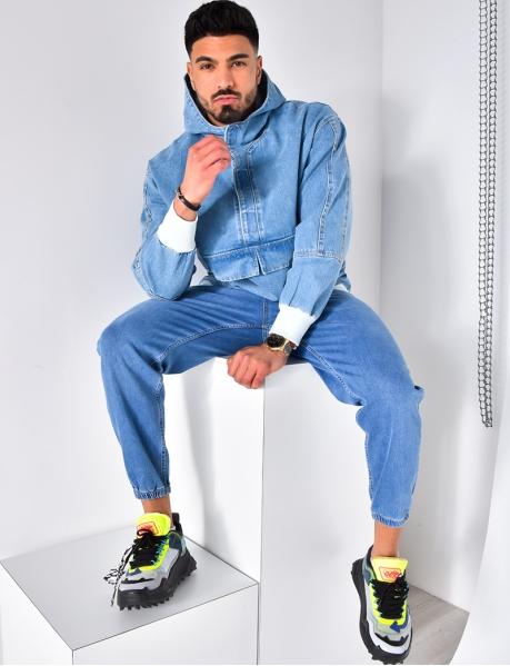 Jeansjacke zum Überziehen
