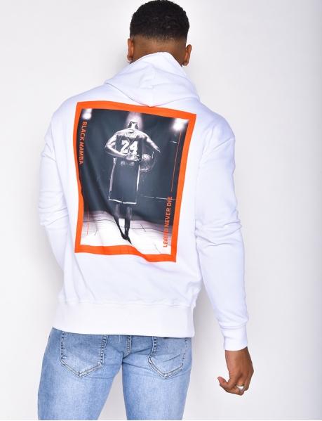 """Sweatshirt mit Kapuze und Taschen """"24"""""""