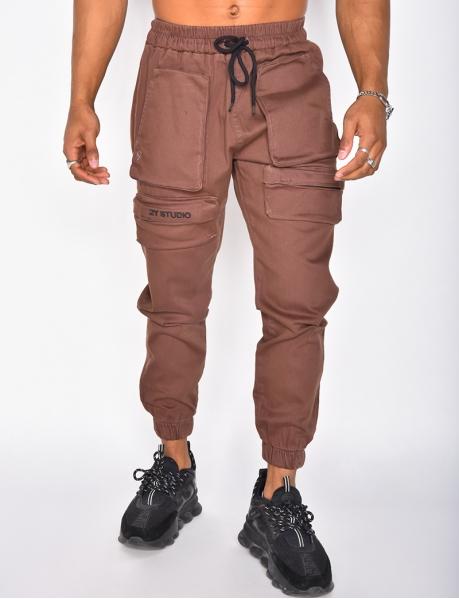 "Pantalon cargo à poches ""2Y STUDIO"""