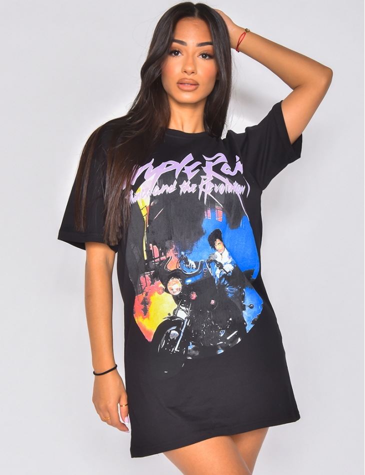 "T-shirt ""Purple Rain"""