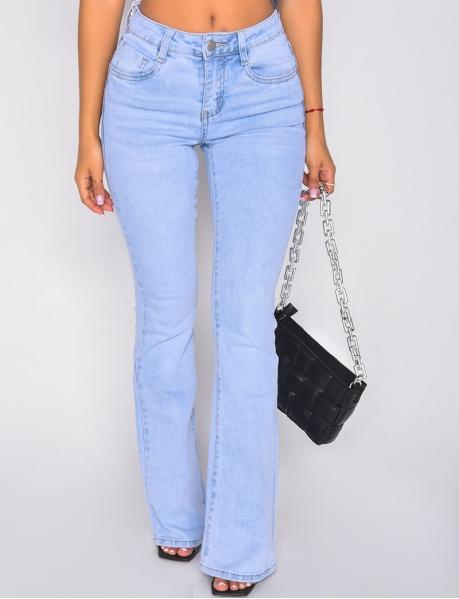 Jeans pattes d'eph