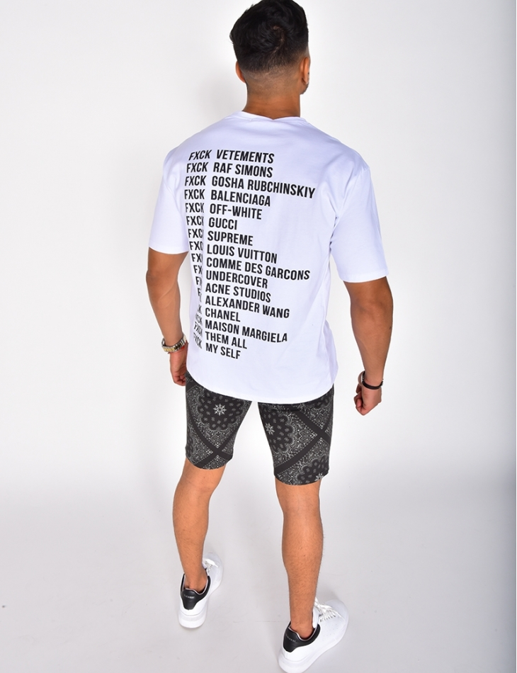 """T-shirt """"FXCK"""""""