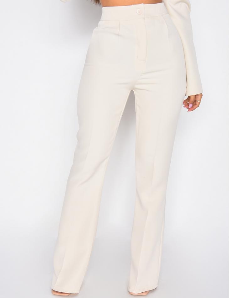 Pantalon de tailleur patte d'eph