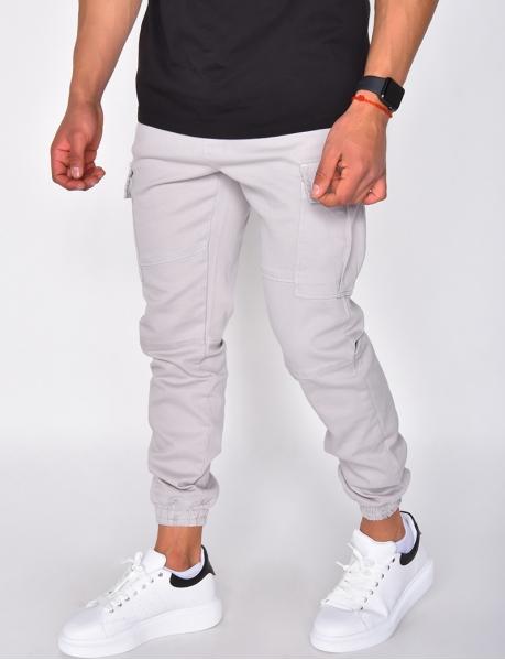 Pantalon cargo à poche