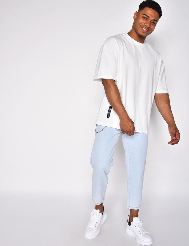 Jeans à chaîne