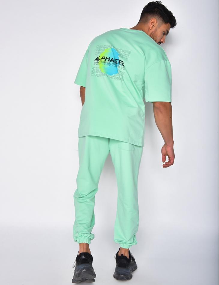 """Ensemble jogging et t-shirt """"ALPHALETE"""""""
