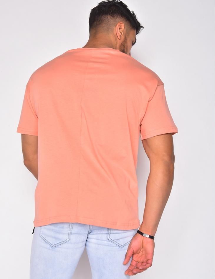 T-shirt manches courtes uni
