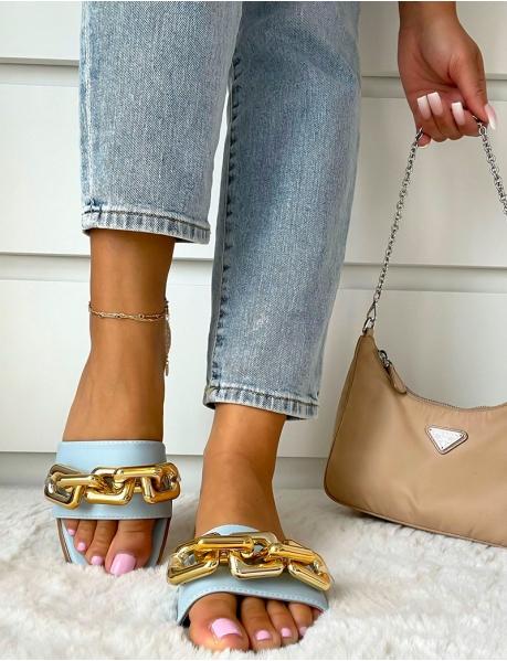 Claquettes à chaines