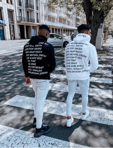"Sweatshirt mit Kapuze ""Love"""