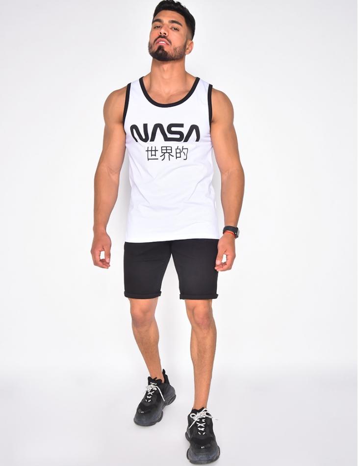 """T-shirt """"Nasa """" sans manches"""