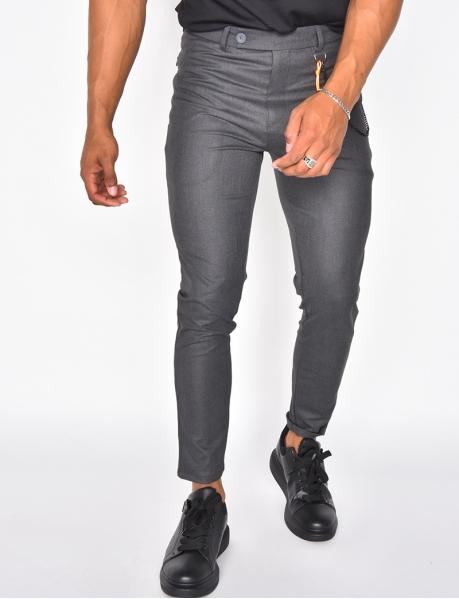 Pantalon chino à chaine