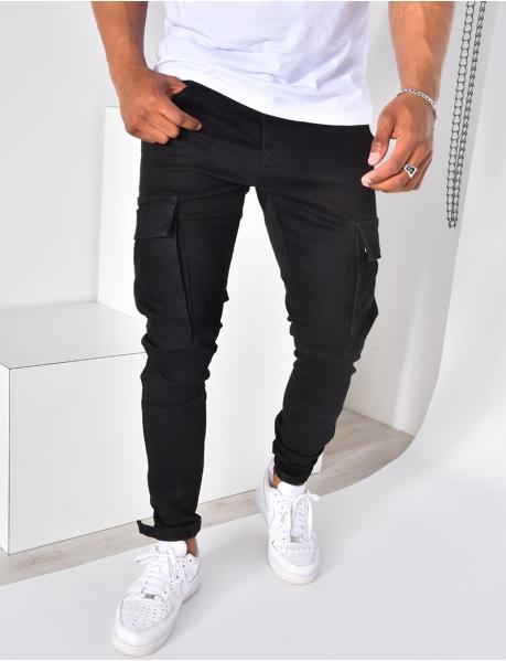 Jeans cargo à poches