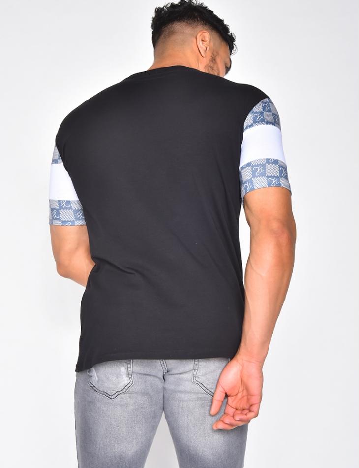 T-shirt Jeans Industry bi-matière