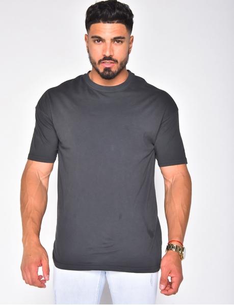 Unifarbenes T-Shirt