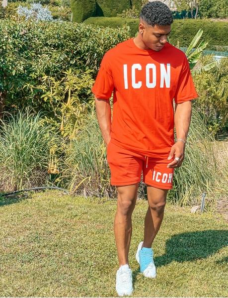 """Icon"" T-shirt and Shorts Set"