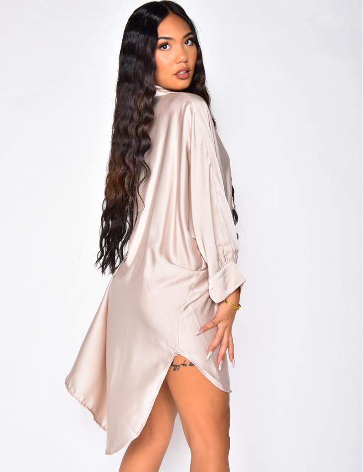Robe chemise oversize