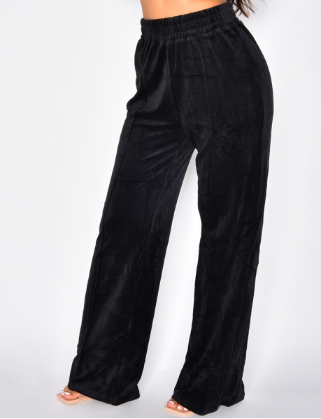 Pantalon large tout doux
