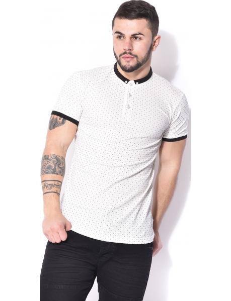 Armita Slim Polot Shirt with Patterns