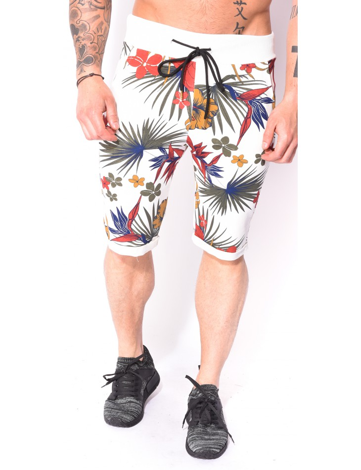 Men's Shorts with Flowers